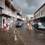 Eine Straße in Port Louis