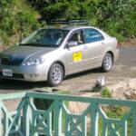 Mit diesem Auto wurden wir von unserem Privatfahrer auf Mauritius umhergeführt