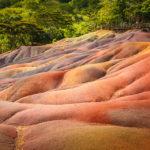 Die Siebenfarbige Erde (Terres des Sept Couleurs) auf Mauritius