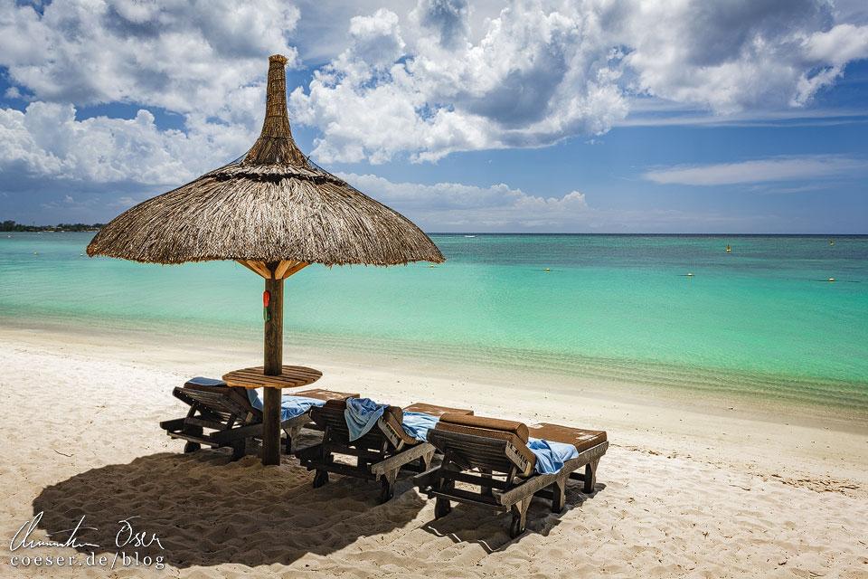 Strand und Meer auf Mauritius