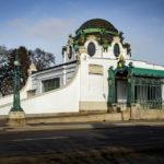 Außenansicht des Hofpavillon Hietzing von Otto Wagner