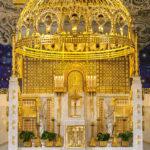 Der Altar in der Kirche am Steinhof