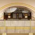 Die Orgel in der Kirche am Steinhof
