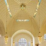 Innenansicht der Kirche am Steinhof von Otto Wagner