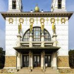 Frontalansicht der Kirche am Steinhof von Otto Wagner