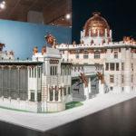 Modell des Kaiser-Franz Josef-Stadtmuseums am Karlsplatz, nicht realisiert