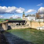 Die Nussdorfer Wehr- und Schleusenanlage von Otto Wagner