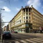 Alle drei Wienzeilenhäuser an der Linken Wienzeile und Köstlergasse auf einem Blick