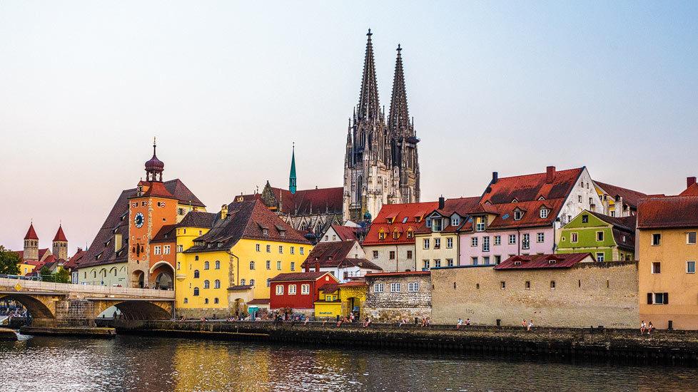 Regensburger Altstadt und Dom St. Peter