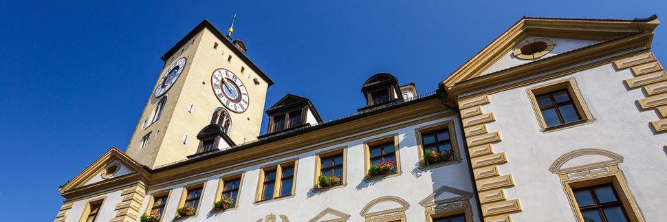 Historisches Gebäude in Regensburg