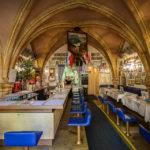 Innenansicht der Gaststätte Dampfnudel Uli in Regensburg