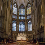 Innenansicht des Regensburger Doms St. Peter