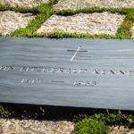 Das Grab des US-Präsidenten John F. Kennedy auf dem Arlington National Cemetery