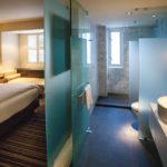 Bad im Doppelzimmer im Hotel The Dupont Circle in Washington