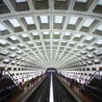 Architektur der Metro-Station Dupont Circle in Washington