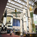 Raumfahrtobjekte im National Air and Space Museum in Washington