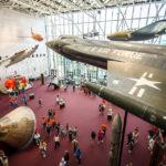 Luftfahrtobjekte im National Air and Space Museum in Washington