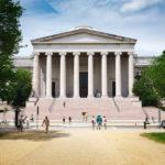 Das neoklassizistische West Building der National Gallery of Art