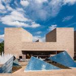 Das moderne East Building der National Gallery of Art