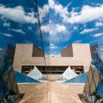Das moderne East Building der National Gallery of Art lässt sich kreativ fotografieren