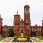 "Das Smithsonian Institution Building, genannt ""The Castle"""