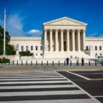 Der Supreme Court (Oberster Gerichtshof) in Washington