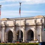 Das neoklassizistische Gebäude der Union Station in Washington