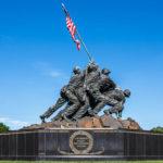 Das United States Marine Corps War Memorial in Washington