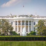 Südseite des Weißen Hauses in Washington