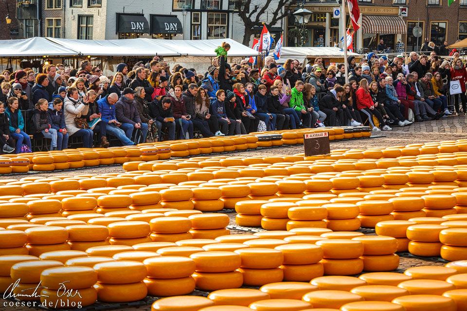 Käsemarkt Alkmaar: Besucherinformationen