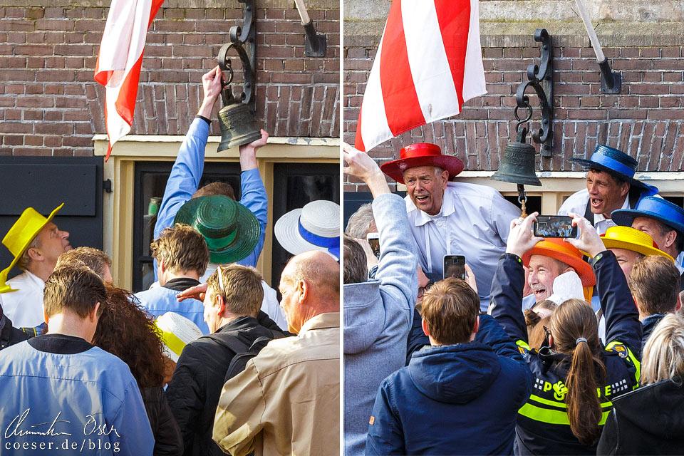 Käsemarkt Alkmaar: Glockenläuten und Eröffnung