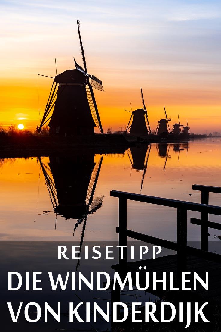 Die Windmühlen von Kinderdijk: Reisebericht mit Erfahrungen zu Sehenswürdigkeiten, den besten Fotospots sowie allgemeinen Tipps und Restaurantempfehlungen.