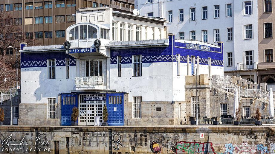 Das Schützenhaus von Otto Wagner