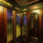 Aufzug im Ankerhaus von Otto Wagner in Wien