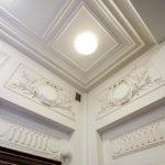 Wanddetail im Ankerhaus von Otto Wagner in Wien