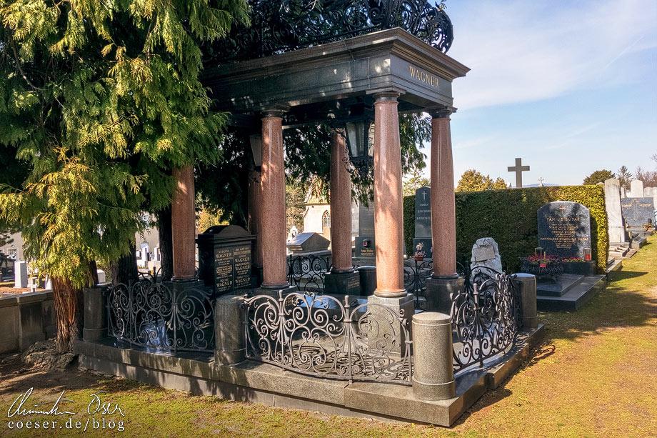 Otto Wagners Grabstätte auf dem Hietzinger Friedhof