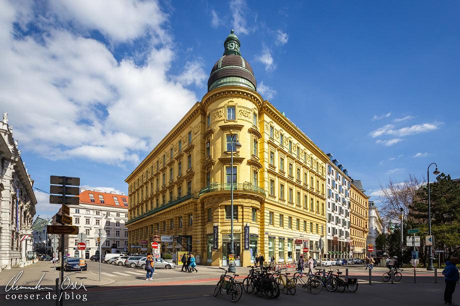 Mietshaus Lobkowitzplatz 1 von Otto Wagner
