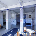 Innenansicht des Lupuspavillon von Otto Wagner im Wilhelminenspital