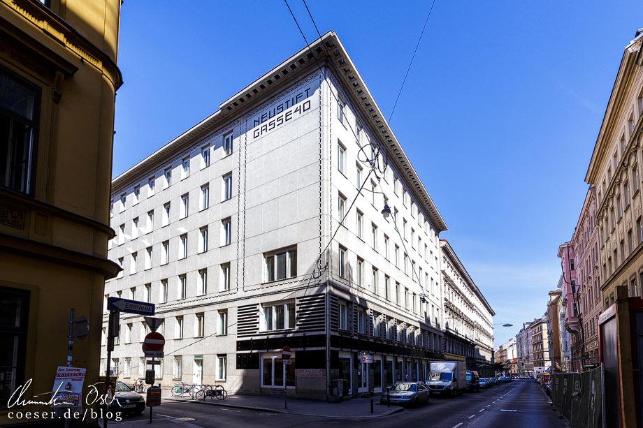 Mietshäuser Neustiftgasse 40 / Döblergasse 2-4 von Otto Wagner