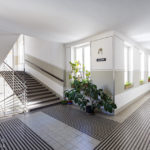Stiegenhaus des Mietshauses Neustiftgasse 40 / Döblergasse 2 von Otto Wagner