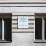 Gedenktafel für Otto Wagner am Mietshaus Döblergasse 4