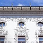 Detailansicht des Palais Hoyos von Otto Wagner