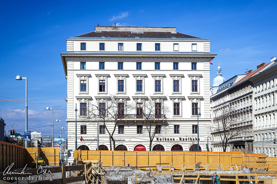 Mietshaus Rathausstraße 3 von Otto Wagner