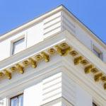 Detailansicht des Mietshauses Rathausstraße 3 von Otto Wagner