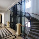 Innenansicht des Mietshauses Rathausstraße 3 von Otto Wagner in Wien
