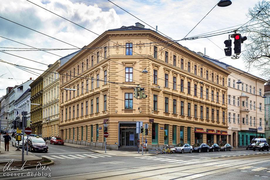 Mietshaus Wiedner Hauptstraße 65 von Otto Wagner