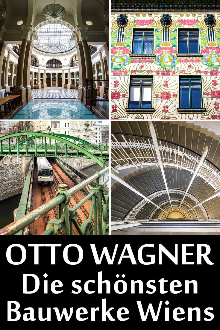 Otto Wagner: Die schönsten Bauwerke in Wien.