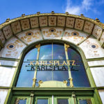 Detailansicht des Otto-Wagner-Pavillons am Karlsplatz