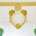 Detailansicht im Otto-Wagner-Pavillon am Karlsplatz