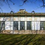 Rückseite des östlichen Otto-Wagner-Pavillons am Karlsplatz